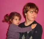 mon fils (16 ans) et ma fille (2ans et demi)