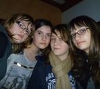 Elisa, Marine, Anais, Ophélie