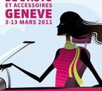 Affiche du salon de Geneve 2011 =D