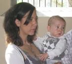 ma belle fille et mon petit fils Mathys