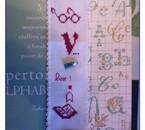petit marque-page pour les livres de points de croix biensûr
