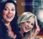 callie torres and arizona .. She's amazing