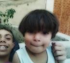moi et mon petit frére XD°