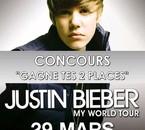 Concours Justin Bieber sur Buzz Land  - 29 MARS BERCY