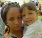 moi et ma soeur a son école