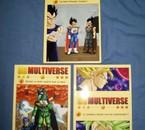 Les 3 premiers tomes de DB Multiverse