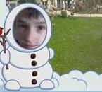 moi dans un bonhome de neige ;)