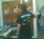 Me with Iron Maiden Shirt!=)