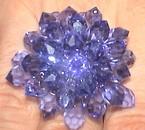 modele cristal tanzanite  40 euros