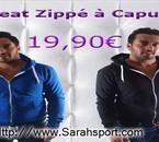 Arrivage Sweat Zippé à Capuche Chez Sarahsport.com