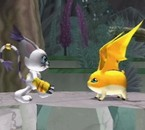 :: Patamon & Gatomon / Tailmon 3D ::