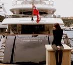 Moi et mon yacht à Monte Carlo aha