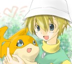 : Patamon And TK :