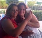 moi en blanc et ma soeur