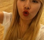 HyunA with her blond hair~ ♥