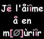 Mon (l) !! <3 i love you grave