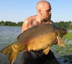 un poisson de 16kg5 que j'ai pris 2 foi dans la même sortie