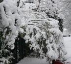 Verrières sous la neige