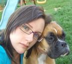 Avec Canelle, Aout 2010...