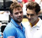 Stanislas Wawrinka & Roger Federer <3