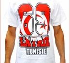 Tshirt blanc 69 LA TRIK TUNISIE