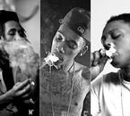 Bob Marley, Wiz Khalifa & Lil Wayne ♥