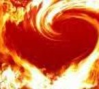 Les flammes de mon Coeur...