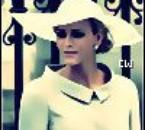 Charlene au mariage de Kate Middleton & du Prince William.