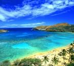Un lagon d'Hawaii