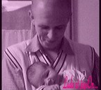 LUDO et son fils JEYSON à la maternité