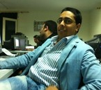 At the class, Saad