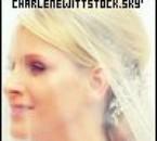 Charlene le jour de son mariage religieux.