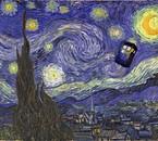 Le Tardis, pas Vincent Van Gogh :D