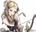Dessin Eva en manga