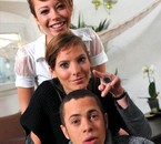 Estelle,Johana et Rudy