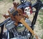 Ma gratte skull en Aout 2011.