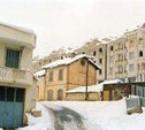 Boghni sous la neige