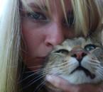 moi et mon chat Topaze