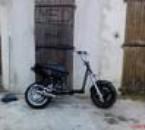 la c'est ma moto en preparation