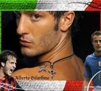 alberto gilardino joueur italien de football et du milan AC