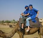 Ca c'est Gwladouill et me au Maroc
