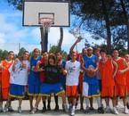 mon équipe de basket