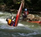 Moi en kayak en espagne
