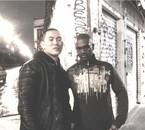 Khaman avec Yuri ( le webmaster du blog)