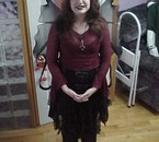 Moi pendant l'Halloween