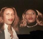 REBECCA AVEC SA SOEUR LILIANE ZENITH 2001