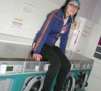 shooting in laundry service!