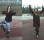 moi et Coralie: Statue Power xD