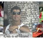 cristiano en vacanes a miami 2007
