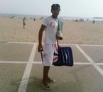 re moi au plage d'agadir